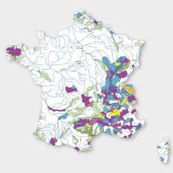 Carte de situation des contrats