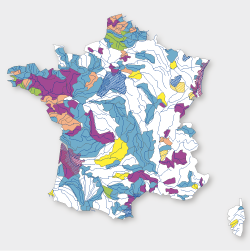Carte de situation des SAGE