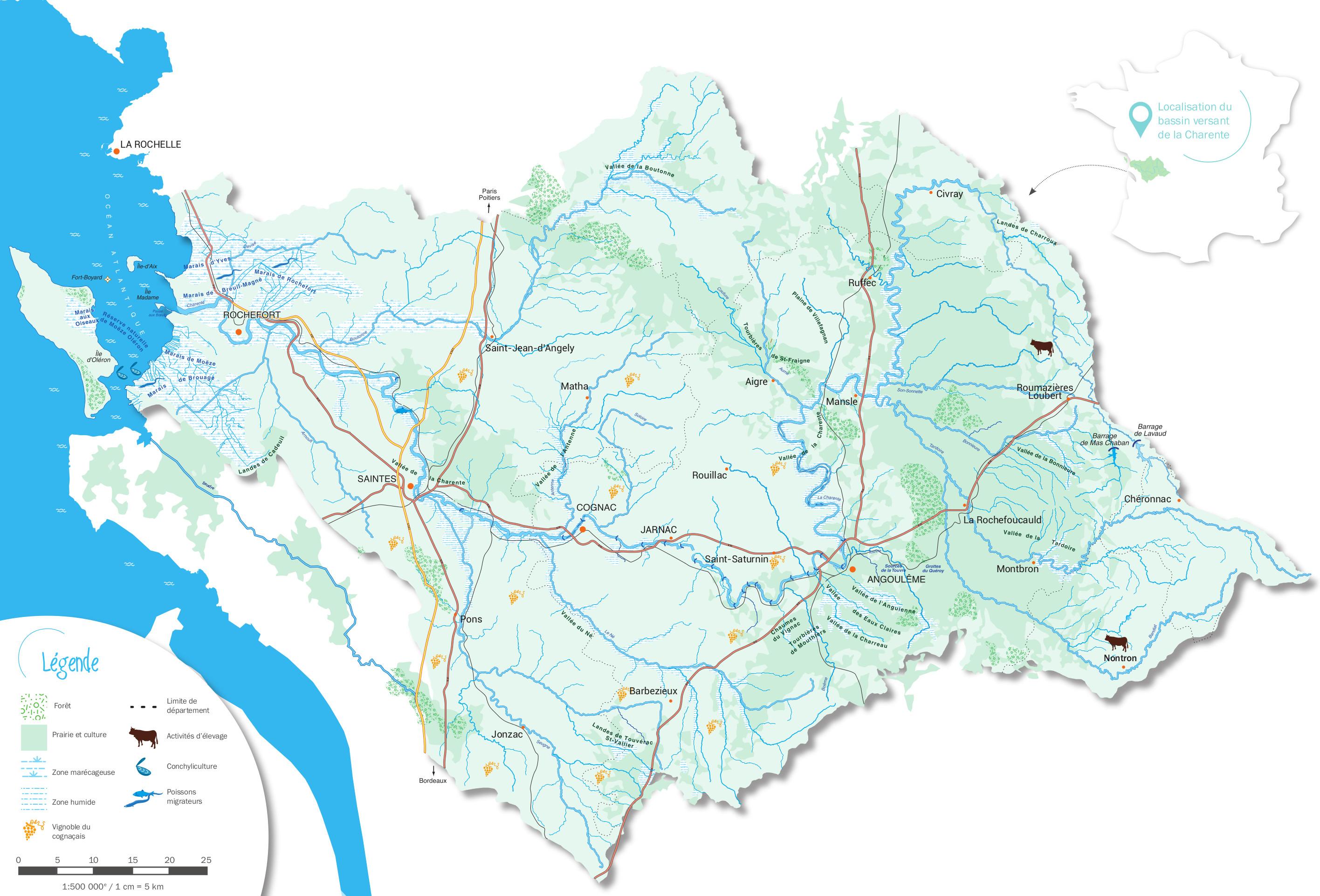 Territoire EPTB Charente