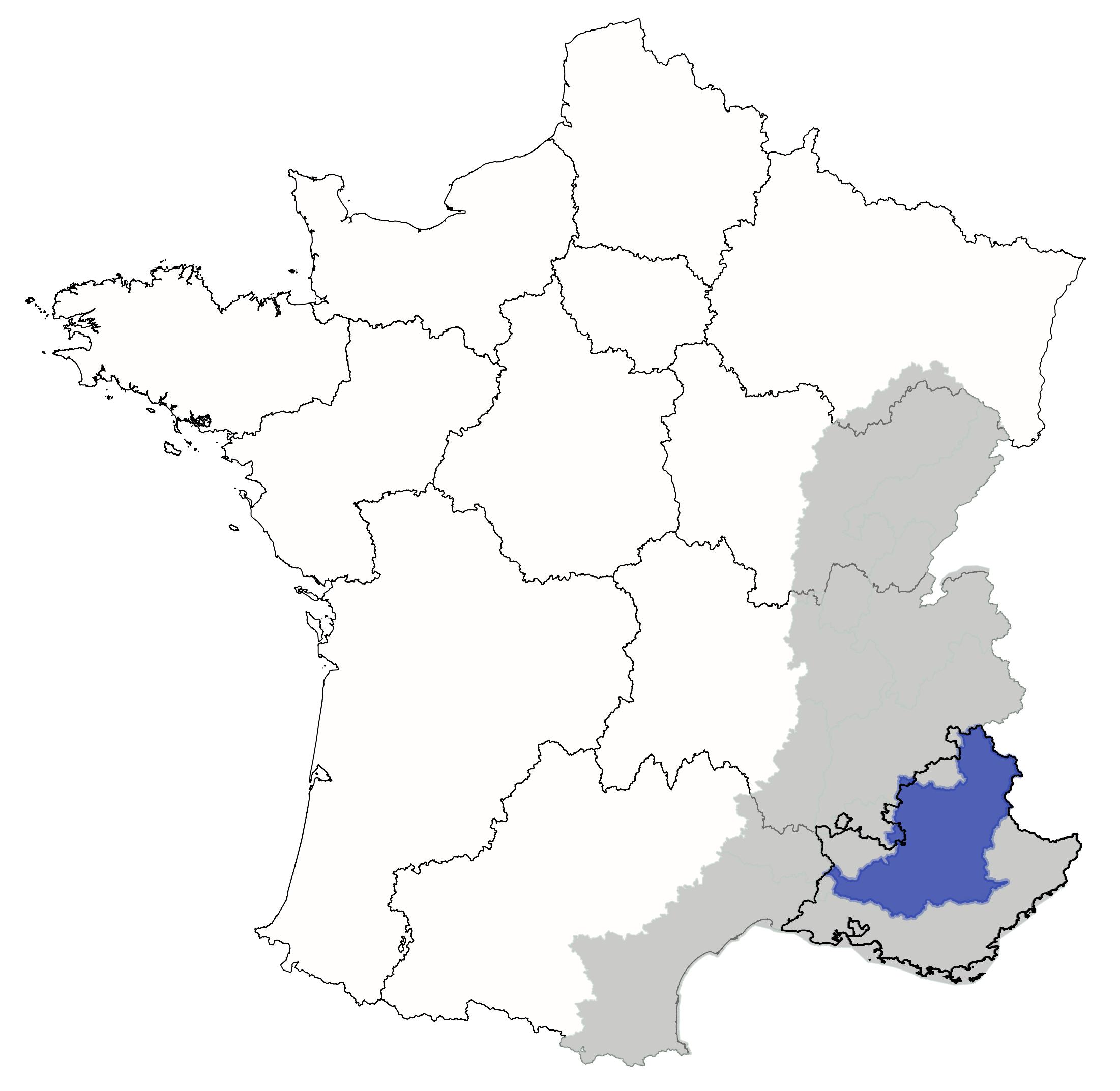Localisation BV Durance