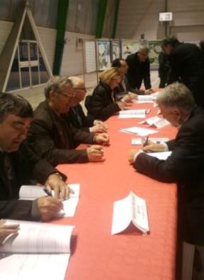 Signature du contrat de rivière Cérou Vère